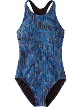 Selkie High Neck One Piece Swimsuit - Socorro