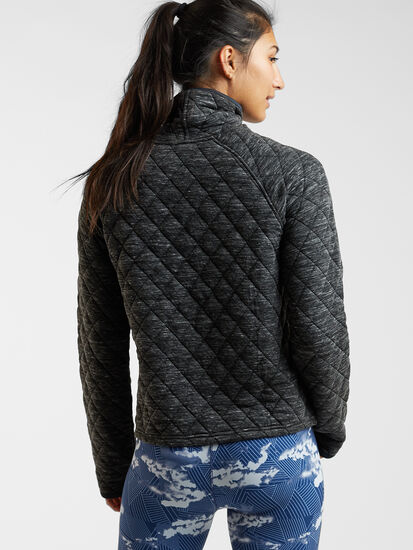 Power Up Quilted Turtleneck Pullover: Image 4
