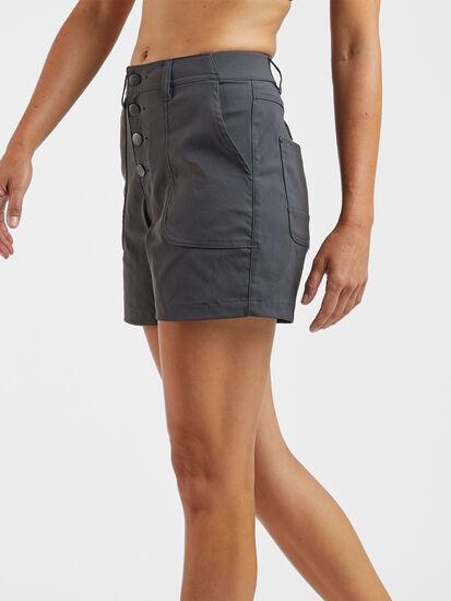Jeanne High Waisted Shorts: Image 3
