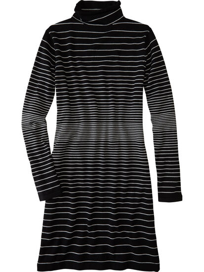 Synergy Mockneck Sweater Dress: Image 1