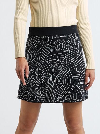 Super Power Skirt - Woodcut Botanical