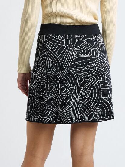 Super Power Skirt - Woodcut Botanical: Image 3