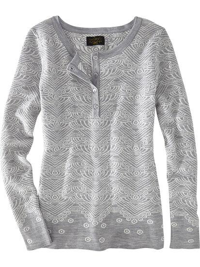 Reykjavik Henley Sweater: Image 1
