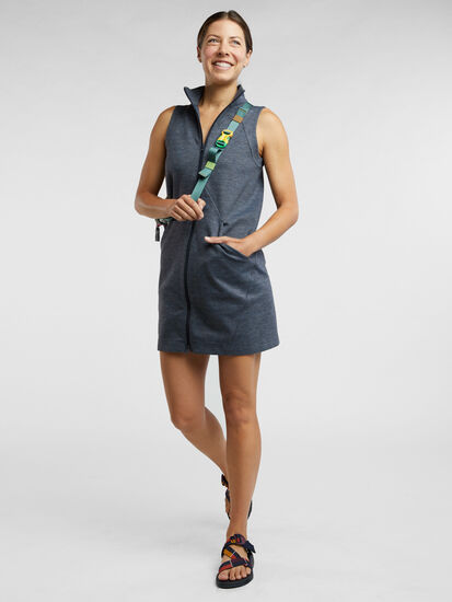 She Leads Zip Front Dress: Image 6