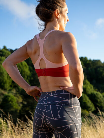 Run It All Racerback Sports Bra: Image 4