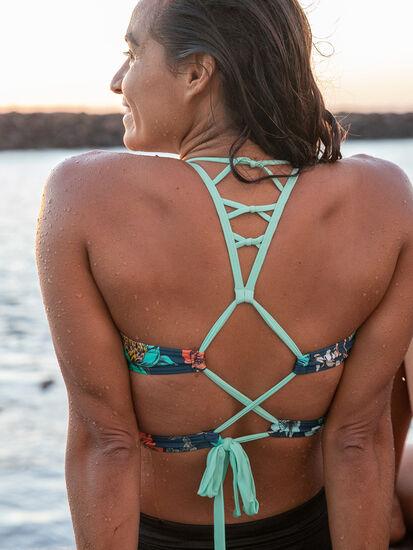 Ferguson Bikini Top - Atlantic Camelia: Image 4