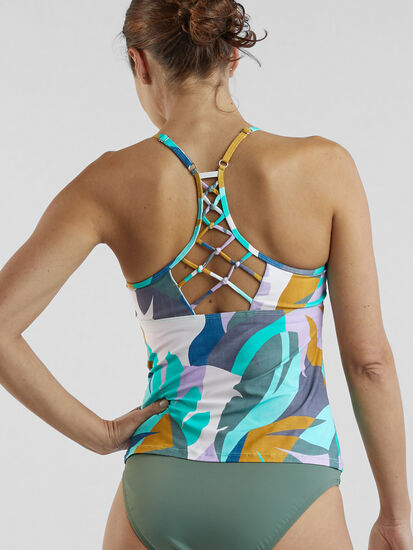 Namaka High Neck Tankini Top - Savanna: Image 2
