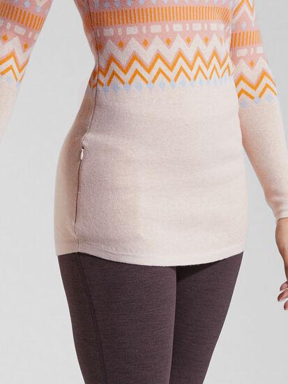 Barra Tunic Sweater - Fair Isle, , original