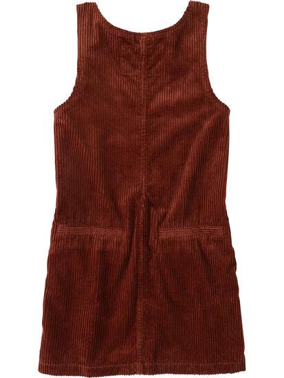Savvy Corduroy Jumper Dress: Image 2