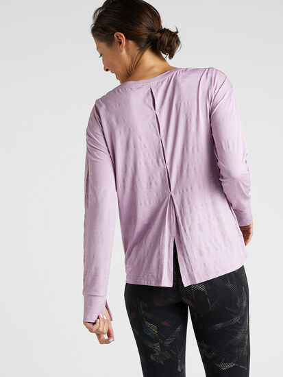 Phoenix Pleat Back Long Sleeve Top: Image 4