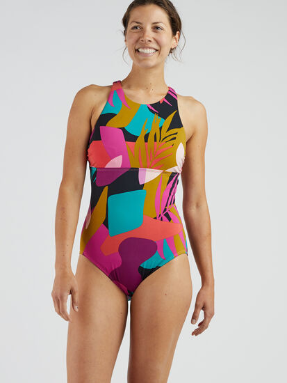 Selkie High Neck One Piece Swimsuit - Seychelles: Image 2