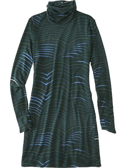 Getaway Long Sleeve Turtleneck Dress - Double Dutch: Image 1