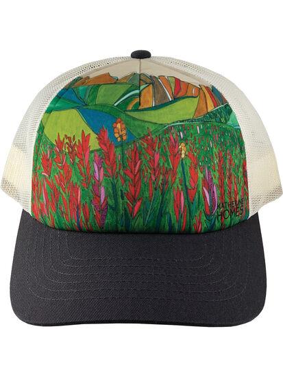 Galleria Trucker Hat - Paintbrush Flower, , original