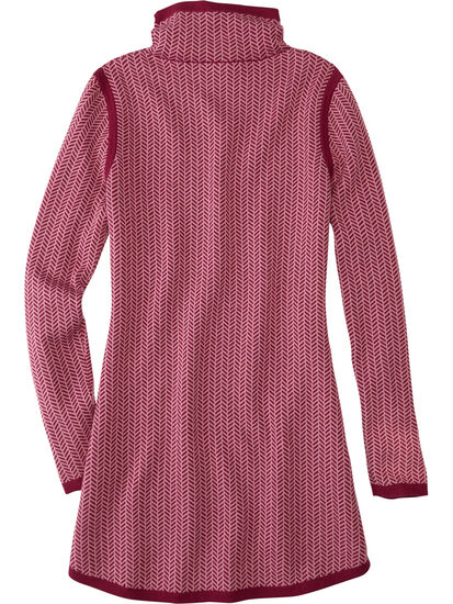 Barra Tunic Sweater - Herringbone: Image 2