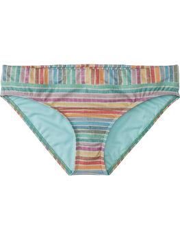 Lehua Bikini Bottom - Linen Stripes