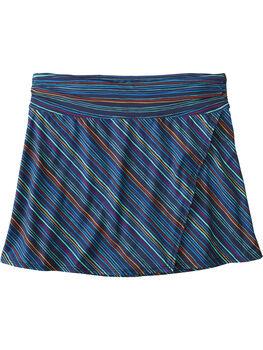 Aquamini Skirt - Botanica Stripe