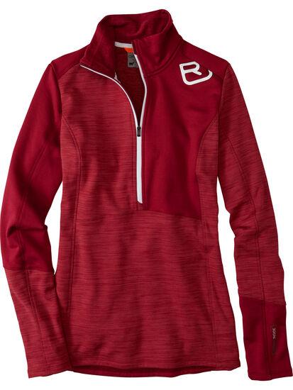 Splurge 1/4 Zip Fleece Pullover: Image 1