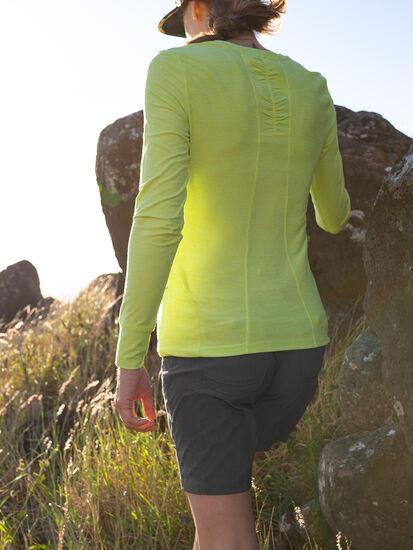 Grace Long Sleeve Top - Solid: Model Image
