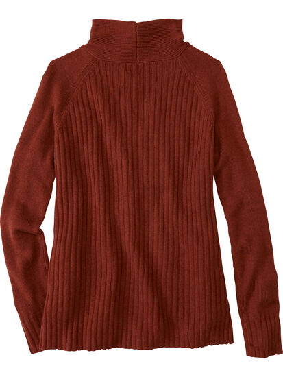 Perma Mock Neck Sweater: Image 2