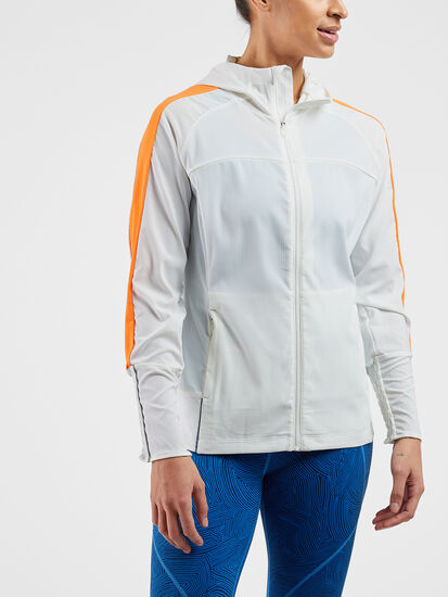 Pacesetter Running Jacket: Model Image