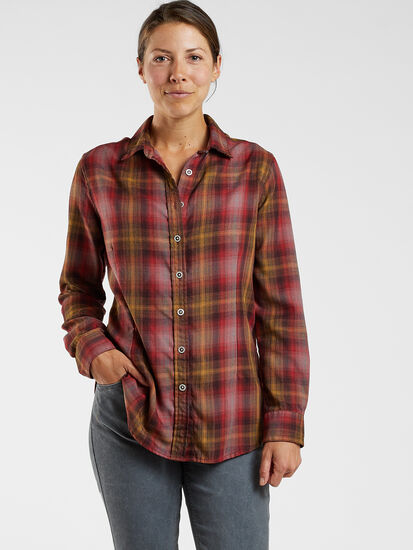 Singular Tech Flannel Shirt: Model Image