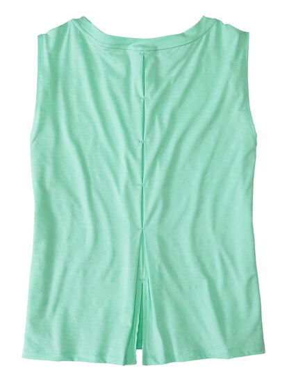Phoenix Pleat Back Tank Top: Image 2