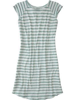 Sativa Short Sleeve Dress - Stripe