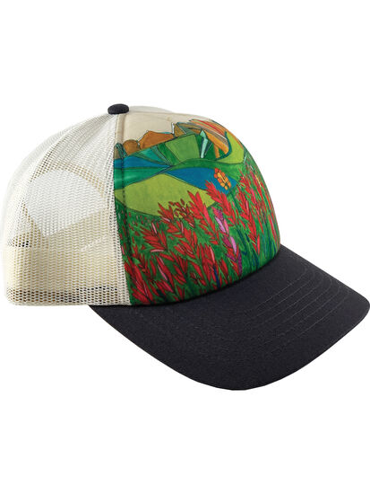 Galleria Trucker Hat - Indian Paintbrush: Image 1