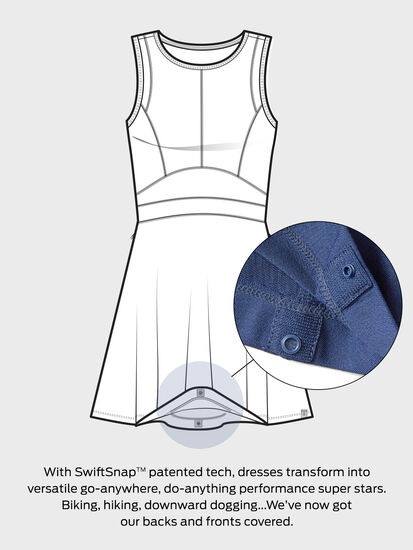Dream 3/4 Sleeve Dress - Floral: Image 3