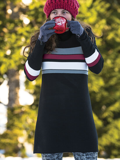 Soothe Sweater Dress: Model Image