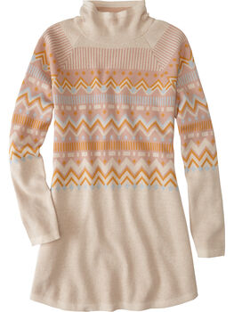 Barra Tunic Sweater - Fair Isle