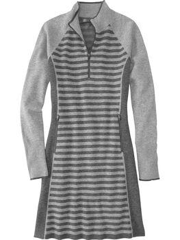 Super Power 1/4 Zip Dress - Colorblock