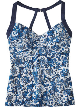 Pele Tankini Top - Feeling Blue