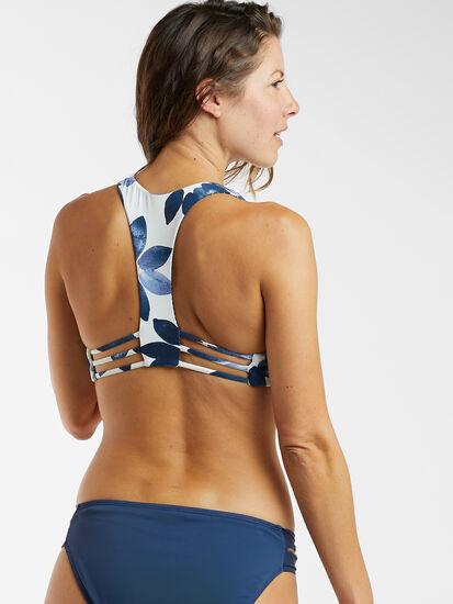 Shorebird Reversible Bikini Top - Bayside Floral: Image 2