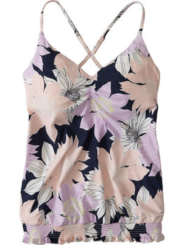 Steady Blouson Tankini Top - Bolinas