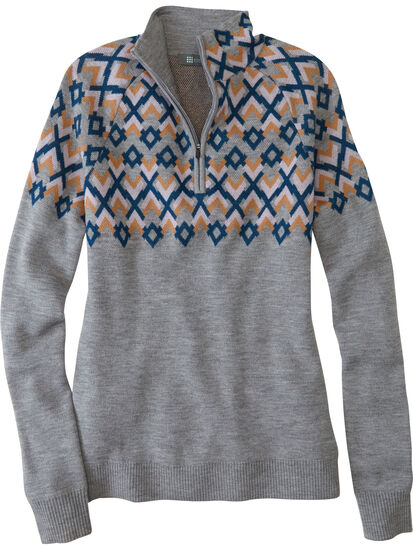 Lift Quarter Zip Sweater: Image 1