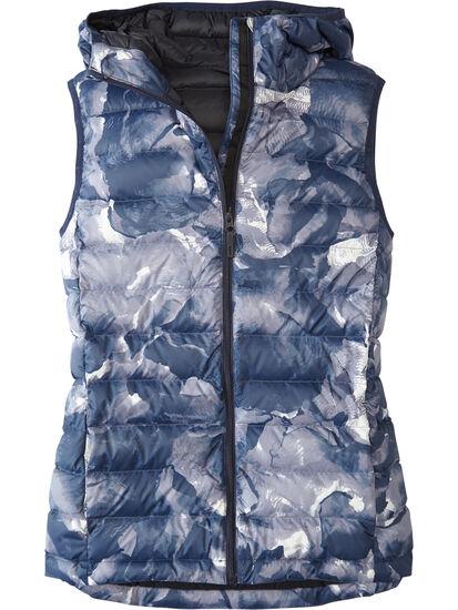 Microwave Puffer Vest - Print: Image 1