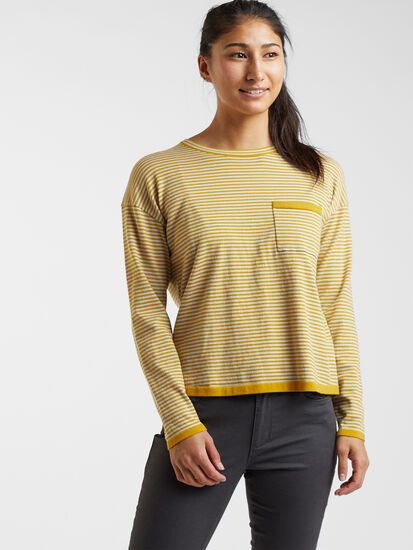 Synergy Crew Neck Sweater - Stripe: Image 3