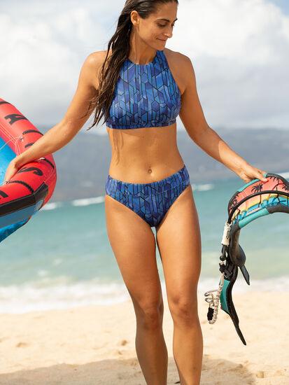 Selkie High Neck Bikini Top - Socorro