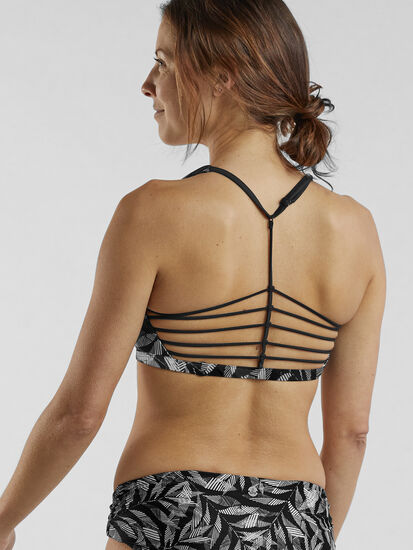 Desis Spider Bikini Top - Black Springtime: Image 2