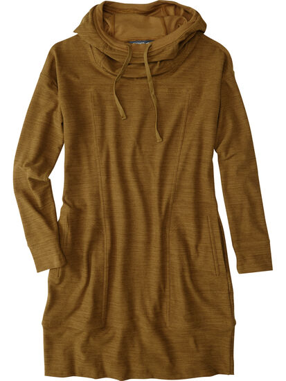 Hibernation Hooded Dress: Image 1
