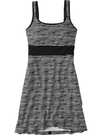 Connelly Dress - Painted Stripe: Image 1