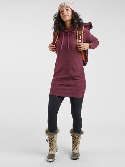 Hibernation Hooded Dress: Image 3