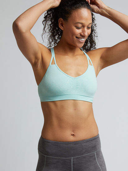What The Sweat Racerback Bra: Image 1
