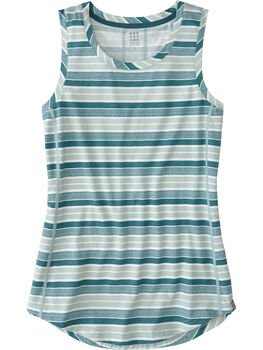 Vibe Tank Top - Rugby Stripe