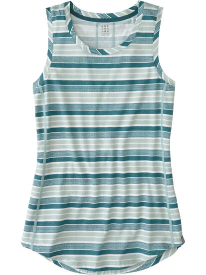 Vibe Tank Top - Rugby Stripe: Image 1