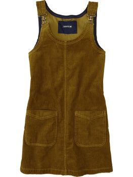 Savvy Corduroy Jumper Dress