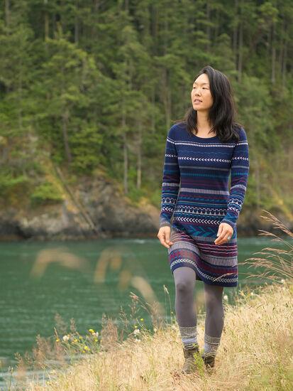 Tallchief Sweater Dress: Model Image