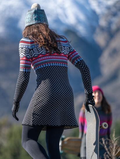 Rhonda's Turtleneck Sweater Dress: Image 3