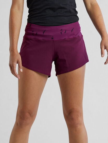 """Obsession Running Shorts 4"""" - Solid: Image 1"""